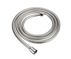 2M Long Standard Flexible Bathroom Shower Head Hose Stainless Steel Chrome Pipe | FreeAds.info