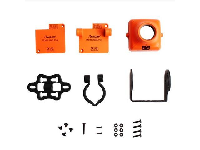RunCam OWL PLUS Protective FPV Camera Case Orange Black   FreeAds.info
