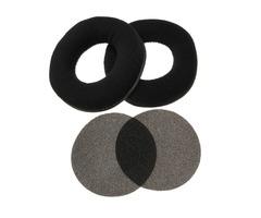 Velour Velvet Replacement Ear Pads Cushion For AKG K240 Studio K240MKII K270 K271 K271S K272