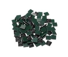 100Pcs Black Self Adhesive Cable Tie Base Holder Sticky Socket