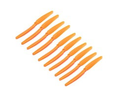 10pcs Gemfan 1060 ABS Direct Drive Orange Propeller Blade