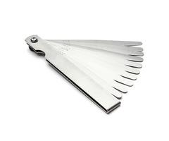 10 Blades Metric Feeler Gauge 0.04-0.63mm Measure Tool Machinery Manufacturing