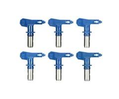 6 Series 19-31 Blue Airless Spray Gun Tips For Wagner Atomex Graco Titan Paint Spray Tip