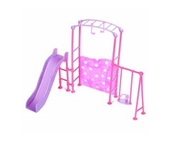 Slide Swing Set Accessories Dollhouse Doll Furniture