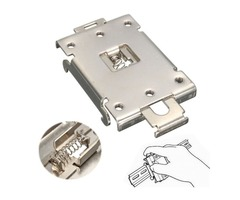 Iron Mounting Bracket Fixed Clamp for SSR Solid State Relay G3NA/G3NE