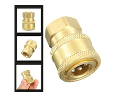 1/4Inch Quick Release To BSP1/4 Female Pressure Washer Hose Adaptor Coupling