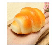 8cm Squishy Simulation Bread Fun Toys Soft Decoration