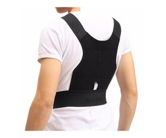 Adjustable Back Support Posture Corrector Belt Shoulder Lumb