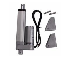 DANIU 200mm Stroke 750N Load Mini Electric Actuator Linear Tubular Motor Motion 12V DC