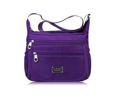 Women Nylon Light Crossbody Bags Casual Outdoor Shoulder Bags Waterproof Travel Bags