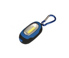 Portable Magnetic Key Chain Flashlight Torch COB LED Working Light Lamp Camping Lantern