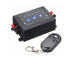 LED Strip Light Single Color Dimmer Switch Wireless RF Remote Controller DC5V/12-24V
