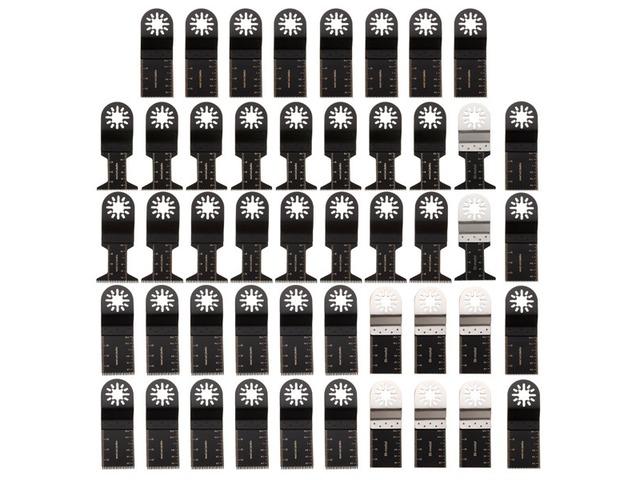 48pcs Mix Saw Blade Oscillating Multitool For Fein Multimaster Bosch