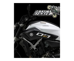Yamaha MT-07 side cover sticker