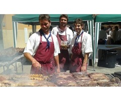 Catering barbecues for weddings