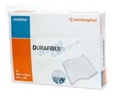 Buy Durafiber Dressings 5cm x 5cm Pack Size 10