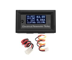 RUIDENG 7 In 1 33V 10A Multifunction White OLED Digital Electrical Parameter Tester Ammeter