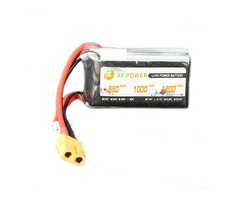 XF Power 11.1V 850mAh 3S 40C Lipo Battery XT60 Plug