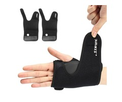AOLIKES Sports Wrist Palm Brace Wrap Sprain Injury Hand Support Protector With Aluminum Plate