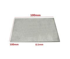 Titanium Alloy Plate TA2/GR2 Titanium Plate 0.5×100×100mm
