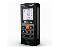 Mustool® MT6100 100M Laser Distance Meter Rangefinder Multipurpose