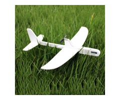 Super Capacitor Electric Hand Throwing Free-flying Glider Airplane Model