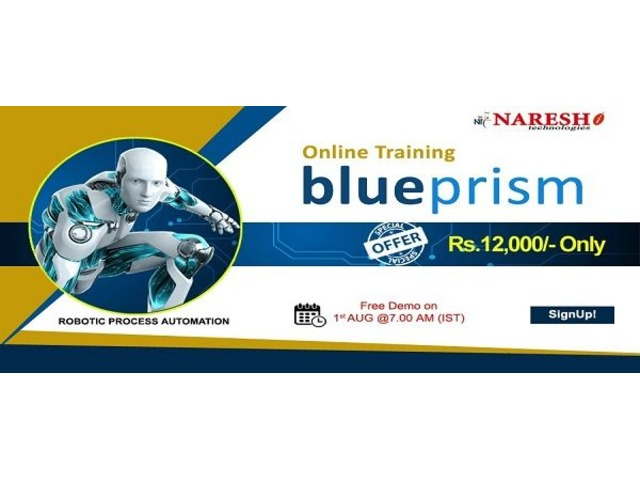 Blue Prism Online Training - NareshIT  | FreeAds.info