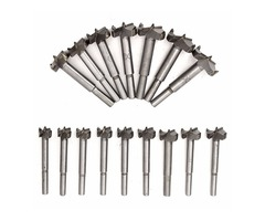 16pcs 15-35mm Forstner Drill Bits Hinge Hole Cutter Wood Working Hole Saw