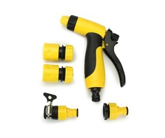 Adjustable Multifunction High Pressure Spray Nozzle Kit for Garden Watering Car Washing