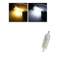 R7S 78mm 5W 76 SMD 4014 LED Pure White Warm White Light Lamp Bulb AC220V