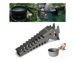Alocs CW-G03 Outdoor BBQ Tong Picnic Cookware Gripper Pot Pan Bowl Anti-skid Hand Clamp