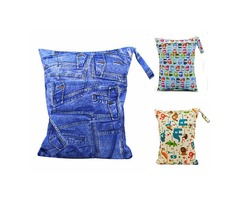 Vvcare BC-WD001 Waterproof Baby Diaper Bag Children Reusable Washable Wet Dry Bags