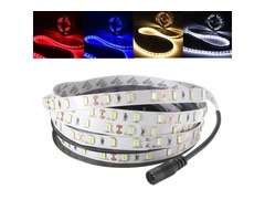 5M 30W LED Strip Flexible Light 300 SMD 5630 White/Warm White/Red/Blue with DC Female 12V