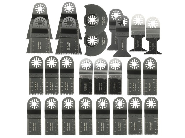 26pcs Mixed Blades Multitool Saw Blade Accessories For Fein