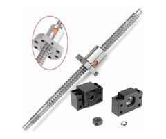 250mm SFU1204 Ball Screw With BK10 BF10 End Supports For CNC Parts