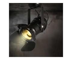 RetroMinimalist American Country LED Tracking Light Spot Lightts Ceiling Lamp 110V 220V