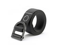 120CM Men Nylon Alloy Buckle Belt Military Tactical Durable Pants Strip