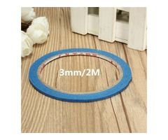 20M Blue Masking Tape High Temperature Resistant Polyimide Adhesive Tapes 3mm