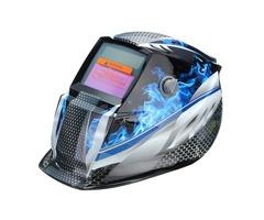 Blue Flame Solar Auto Darkening Welders Welding Helmet Mask Grinding Mode Automatic