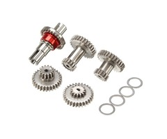Sinohobby Gears With One Straight Shaft Anti-tire kit For MINI Q RC Car