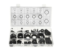 222pcs Rubber O-Ring Assortment Tap Washers Gasket Set Plumbing Seal Assortment