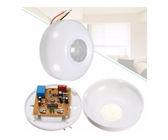 360° Infrared Human Body Induction Switch PIR Motion Sensor Detector for Ceiling Lamp