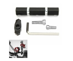 8mm Motorcycle Scooter Decorative Accessories Rear View Mirror Holder Extension Bracket For Yamaha