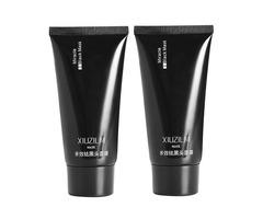 2pcs XIUZILM Blackhead Mask Mud Nose Face Clean Pore Peel Off Remover Deep Cleaner