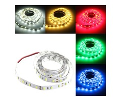 2M 36W DC 12V 120 SMD 5630 Non-Waterproof White/Warm White Red/Green/Blue LED Strip Flexible Light