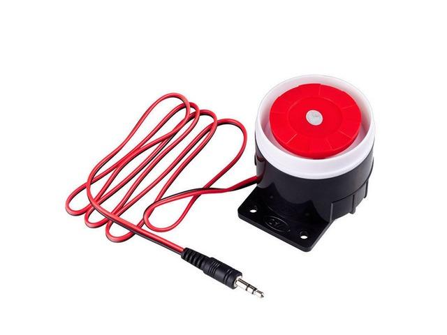 KERUI J02 DC 12V Mini Wired Alarm Siren for GSM Alarm Security System House Burglar Home 120db | FreeAds.info