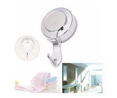 Hook Hanger Vacuum Suction Cup Shower Cloth Towel Wall Door Hook Hanger