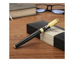 Black Hero 78 0.5mm Fine Clear Shape Calligraphy Fountain Pen