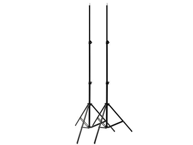 2Pcs Professional Portable Photo 2M 7ft Light Stand Camera Tripod Lighting Kit | FreeAds.info