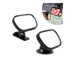 Tirol Mini Adjustable Sun Visor/ Windshield Car Baby View Mirror Car Rear Baby Safety Convex Mirror